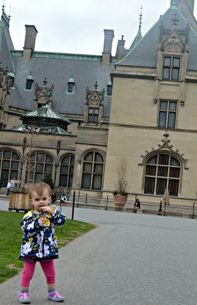 Yes, you can visit the biltmore with kids