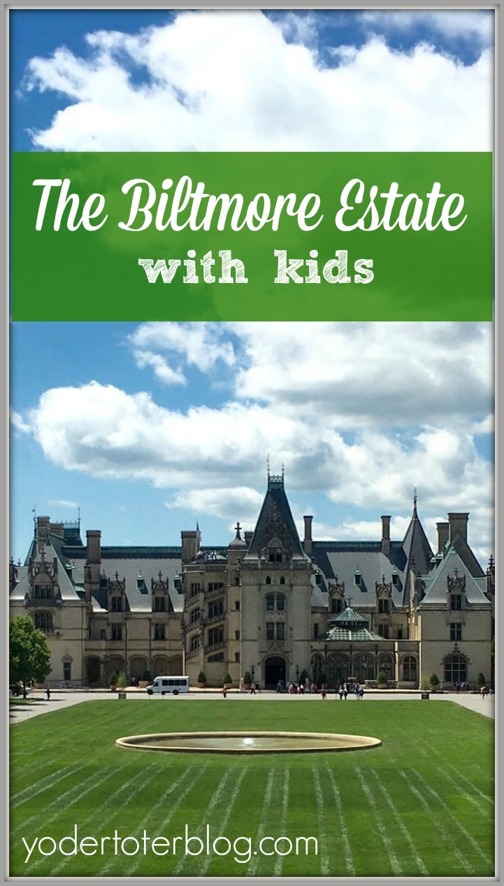 The Biltmore Estate with kids