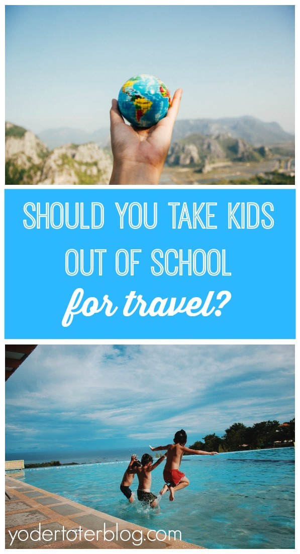 Should you pull kids out of school for travel or vacation?  A mom of three talks to educators and weighs some tough questions about where learning REALLY happens.