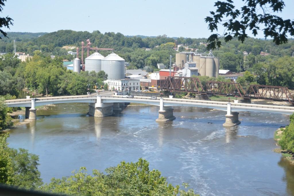 Y bridge, Zanesville