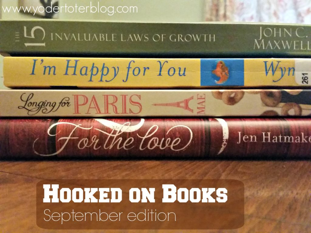 hooked on books Sept
