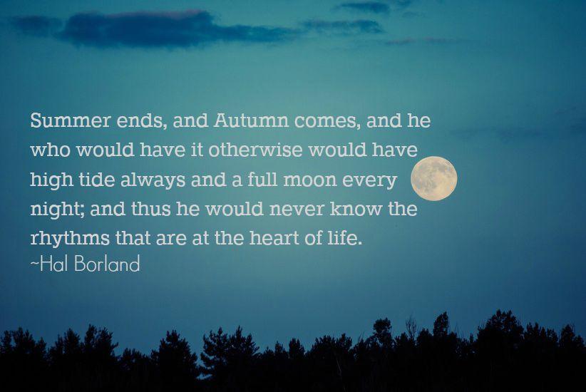 full moon w quote
