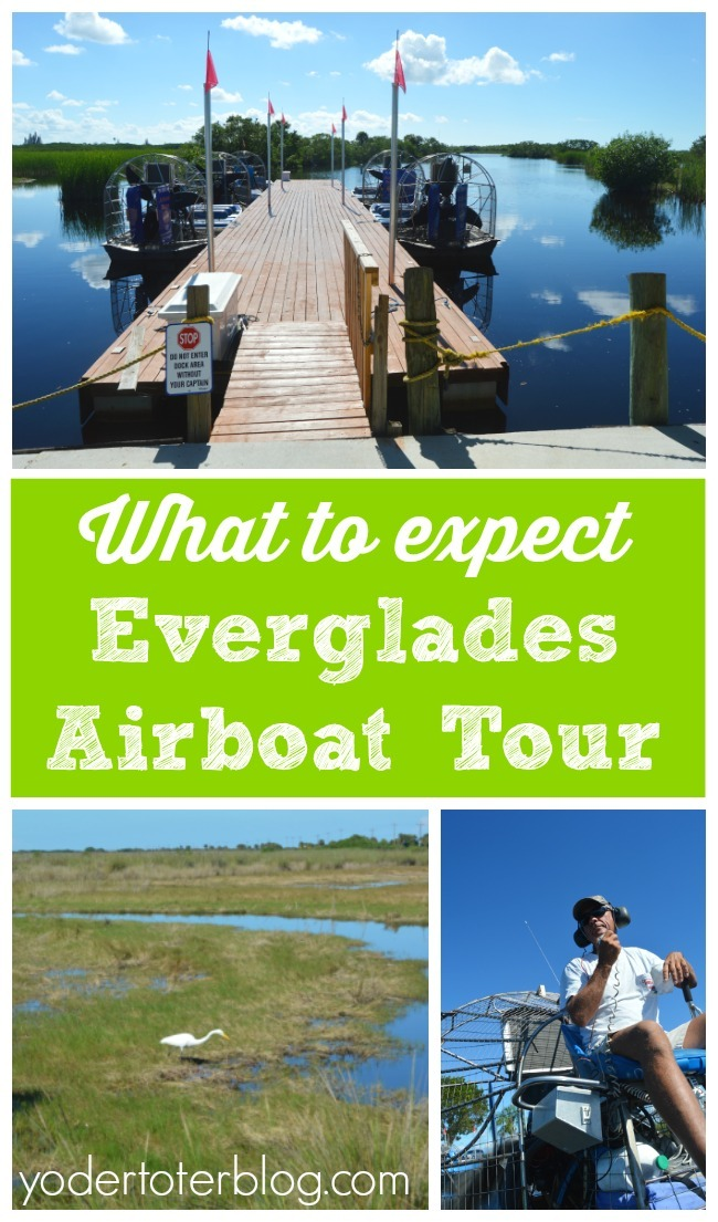 What to expect on an Everglades Airboat Tour. Tips for if you go on an Everglades Airboat tour with kids. We had a great time, even with our small children!