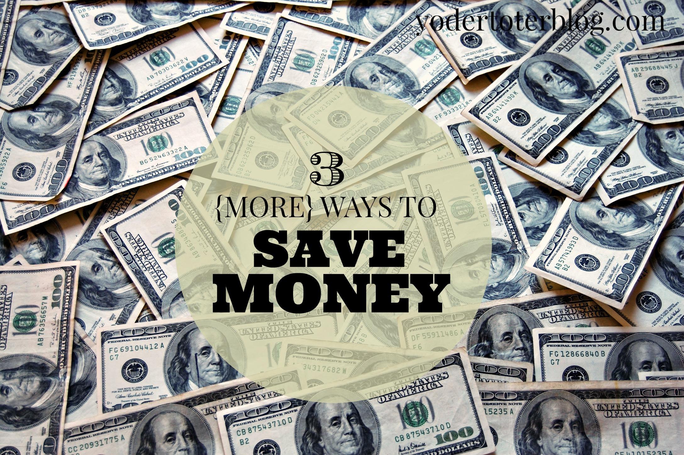 save money header