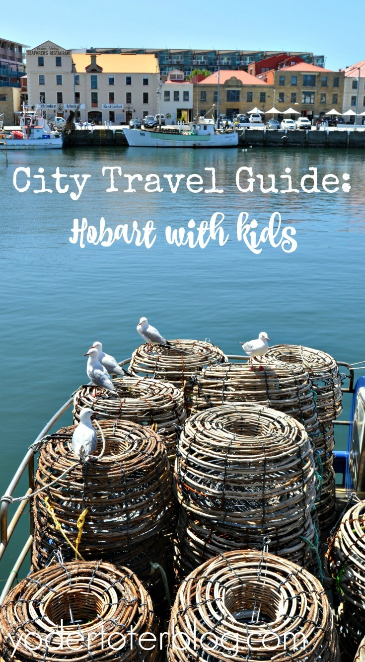 City Travel Guide: Hobart with Kids. What to do in the small Tasmanian city! We traveled as a multi-generational family.