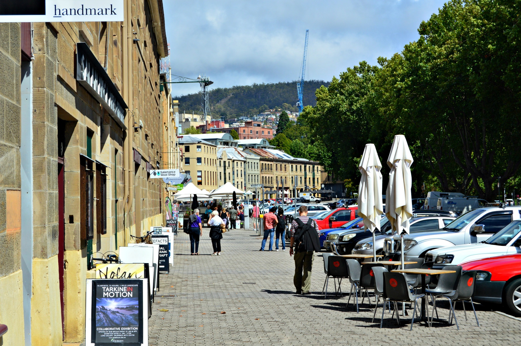 Salamanca Place - Hobart with Kids