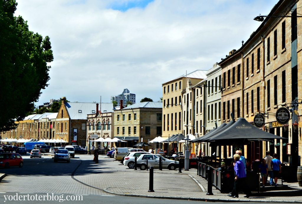 Hobart City Travel Guide : Salamanca Place