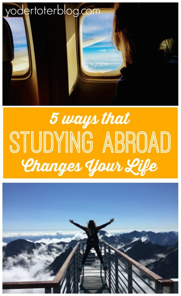 5 ways that studying abroad changes your life - Thoughts from former exchange students and study abroad participants on the positive impact that the time away had on their future lives.