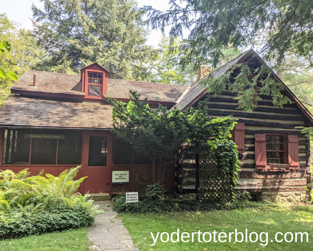 Wahkeena Nature Preserve with kids- The Wahkeena Nature Preserve Visitor Center is a must-see!