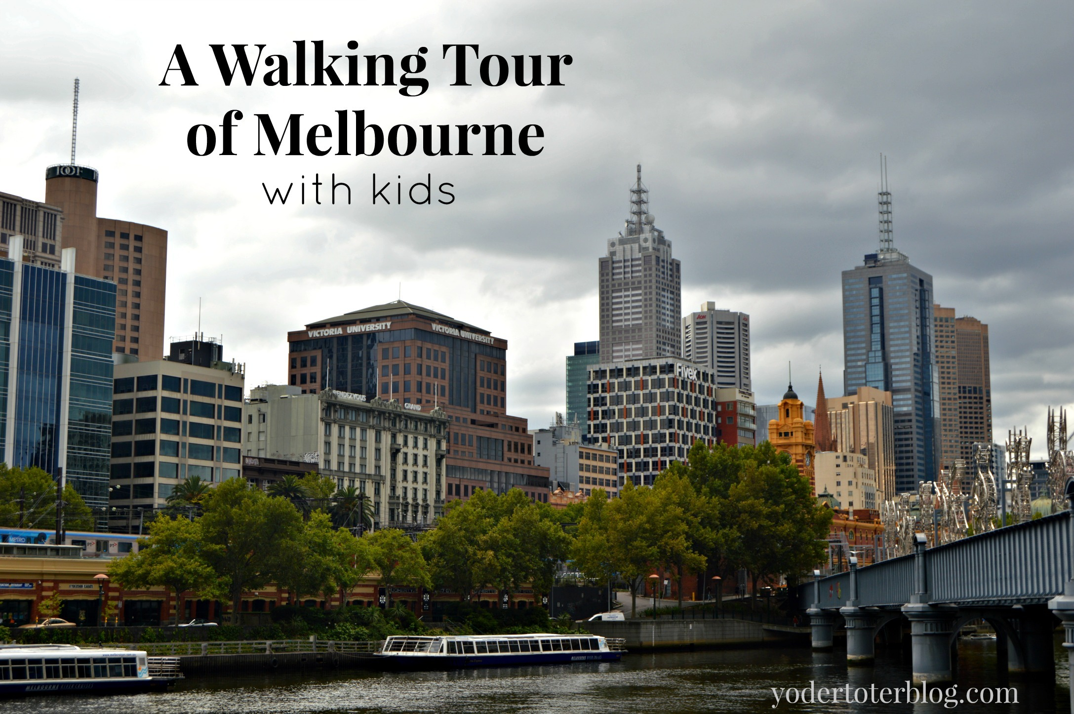 A walking tour of Melbourne with kids