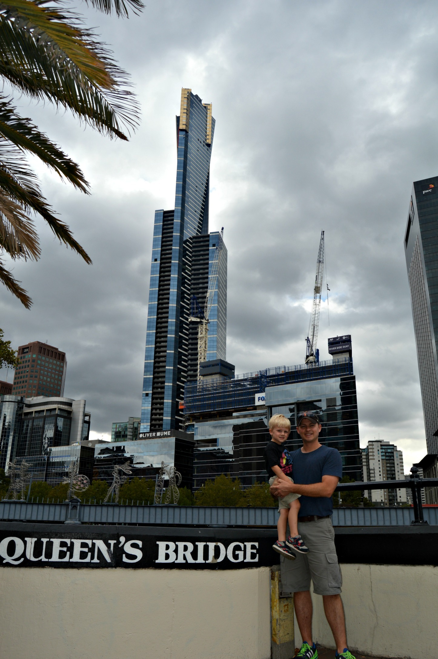 A walking tour of Melbourne with kids - Eureka Tower