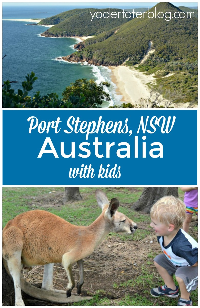 Port Stephens, NSW is a family-friendly destination approximately 2.5 hours north of Sydney. It's the perfect weekend getaway for Sydney locals or those visiting from overseas. Here's what we've enjoyed on our visits!