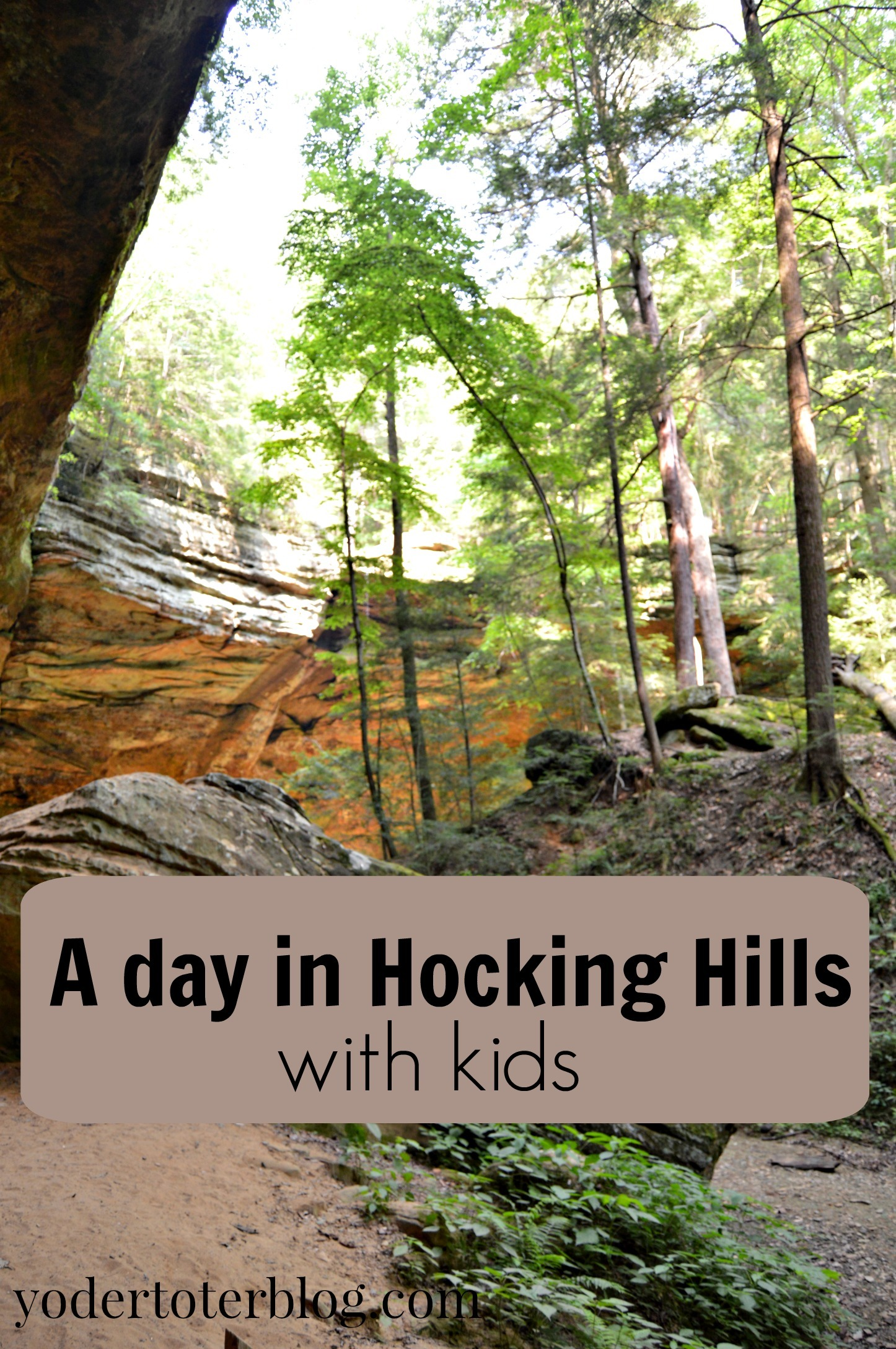 My guide to spending a day in Hocking Hills with your kids.  Tips for if you go!  Hocking Hills makes a great daytrip from Columbus or Cincinnati.