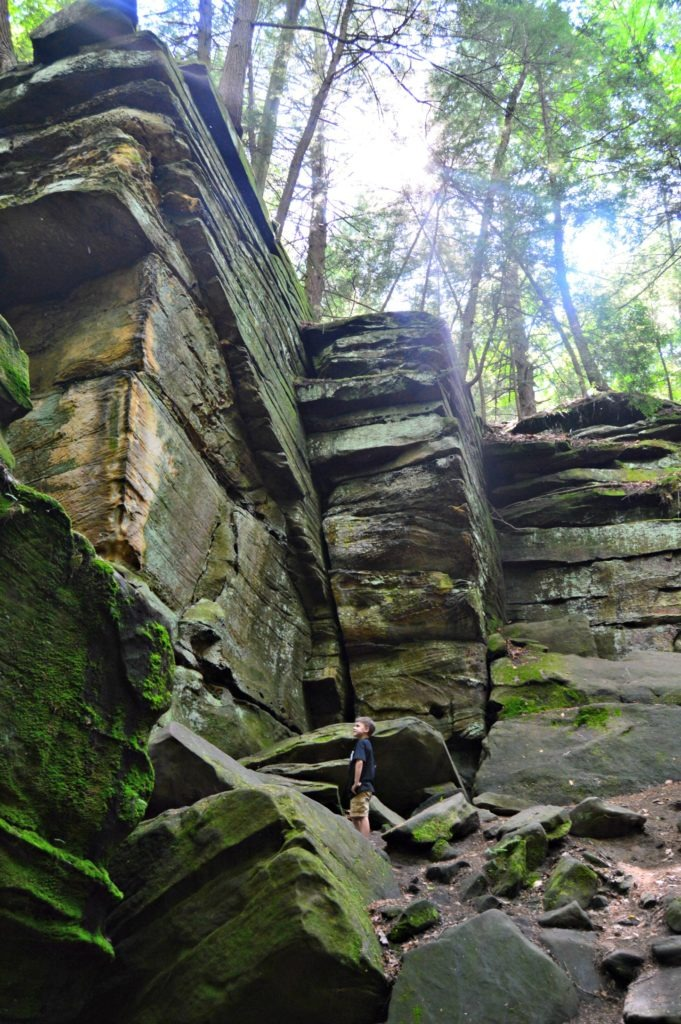Favorite Spots Cuyahoga Valley National Park - The Ledges Trail is awe-inspiring for young and old.