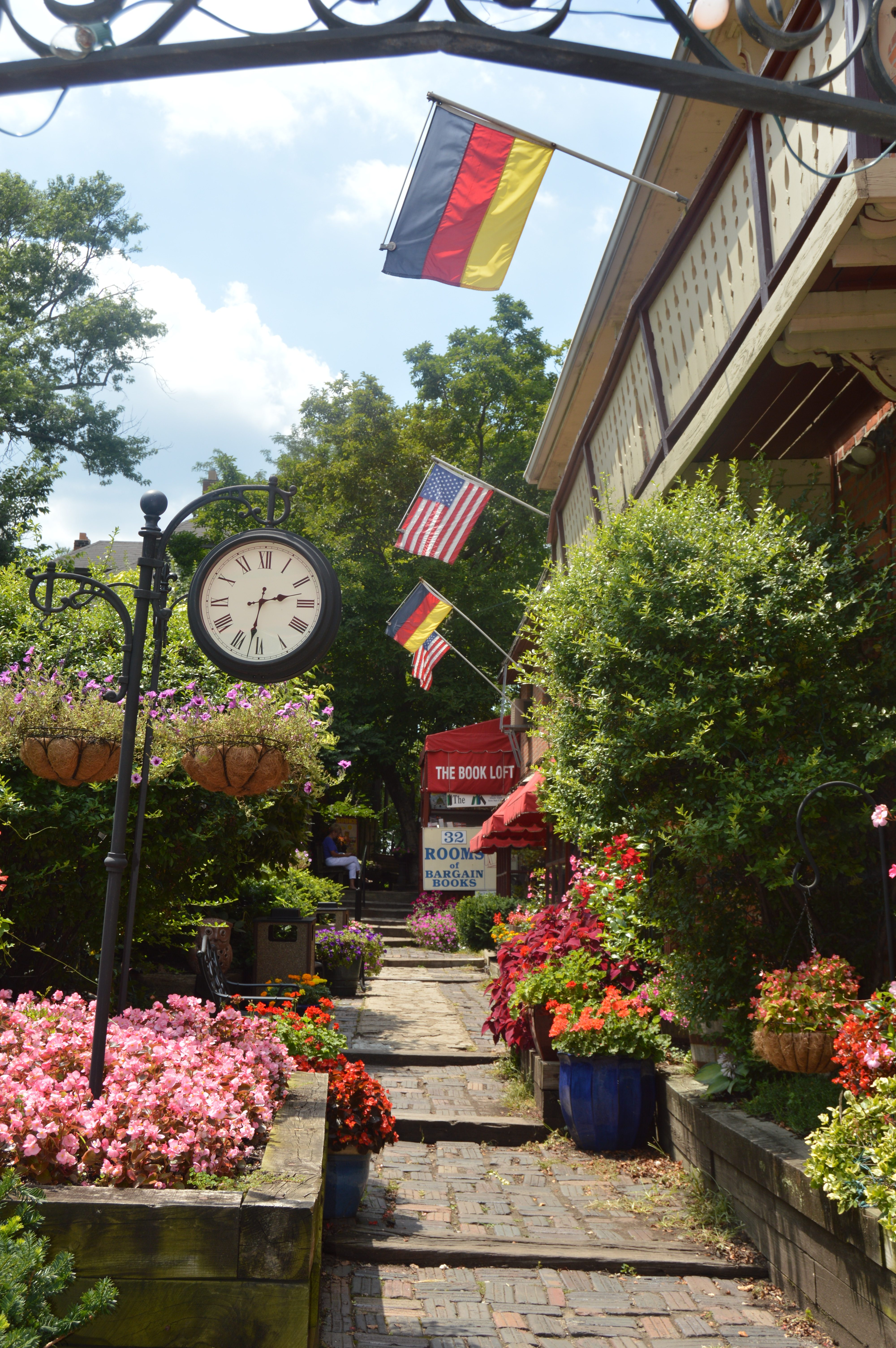 German Village- 5 Free Things to do in Columbus, Ohio with kids