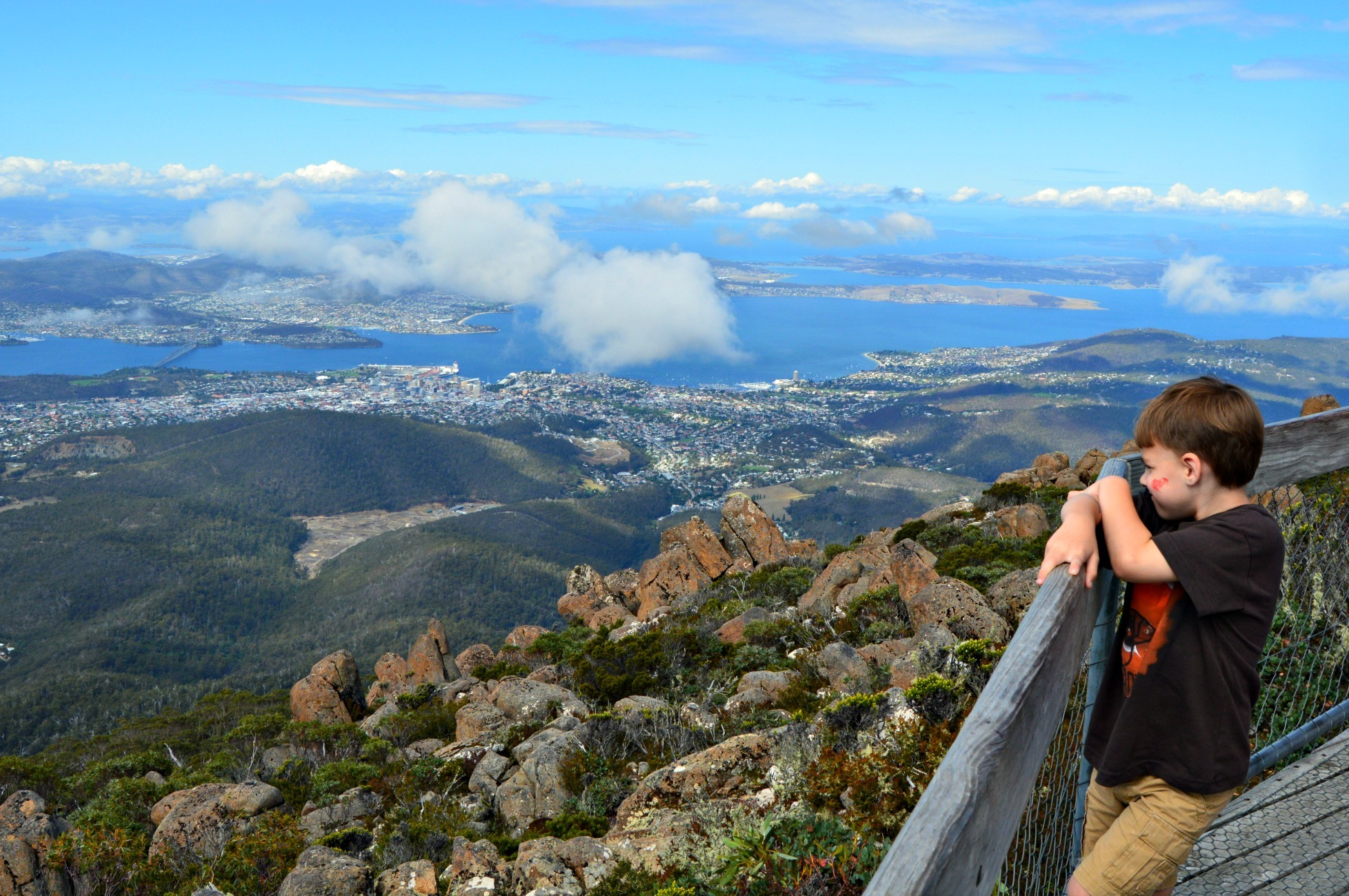 Free excursions from Hobart- Mt Wellington