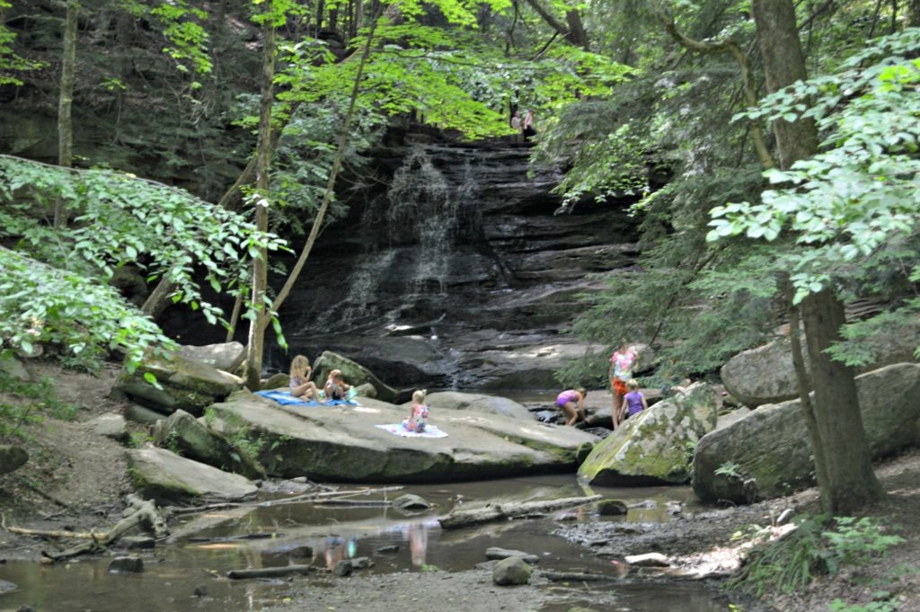 Visiting Knox County, Ohio - Honey Run Falls