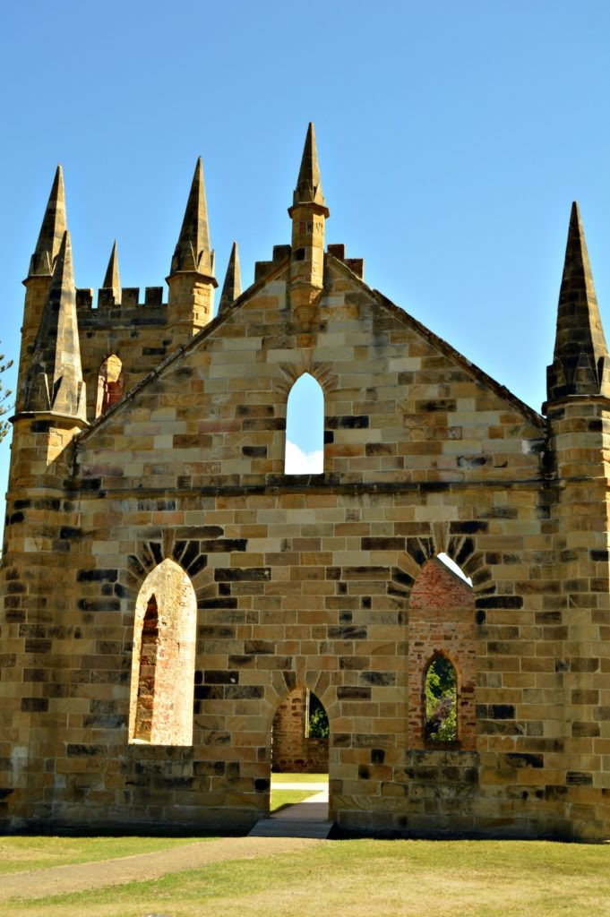 Port Arthur, Tasmania- Church ruins- Road trip to Port Arthur