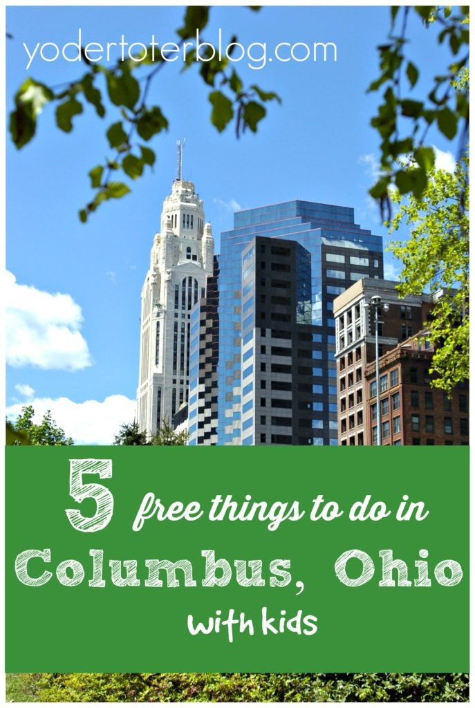 5 Free things to do in Columbus, Ohio with kids - Check out my list of must-do attractions for the family traveling on a low budget.