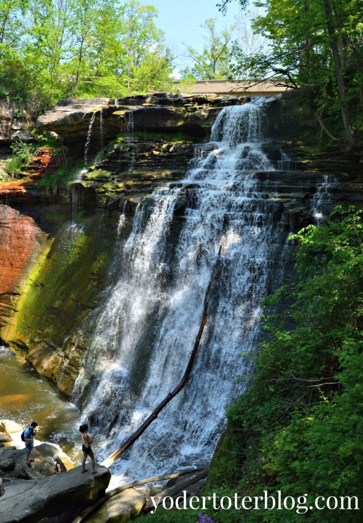 Brandywine Falls, Cuyahoga Valley National Park - 5 Favorite Spots in Cuyahoga Valley National Park