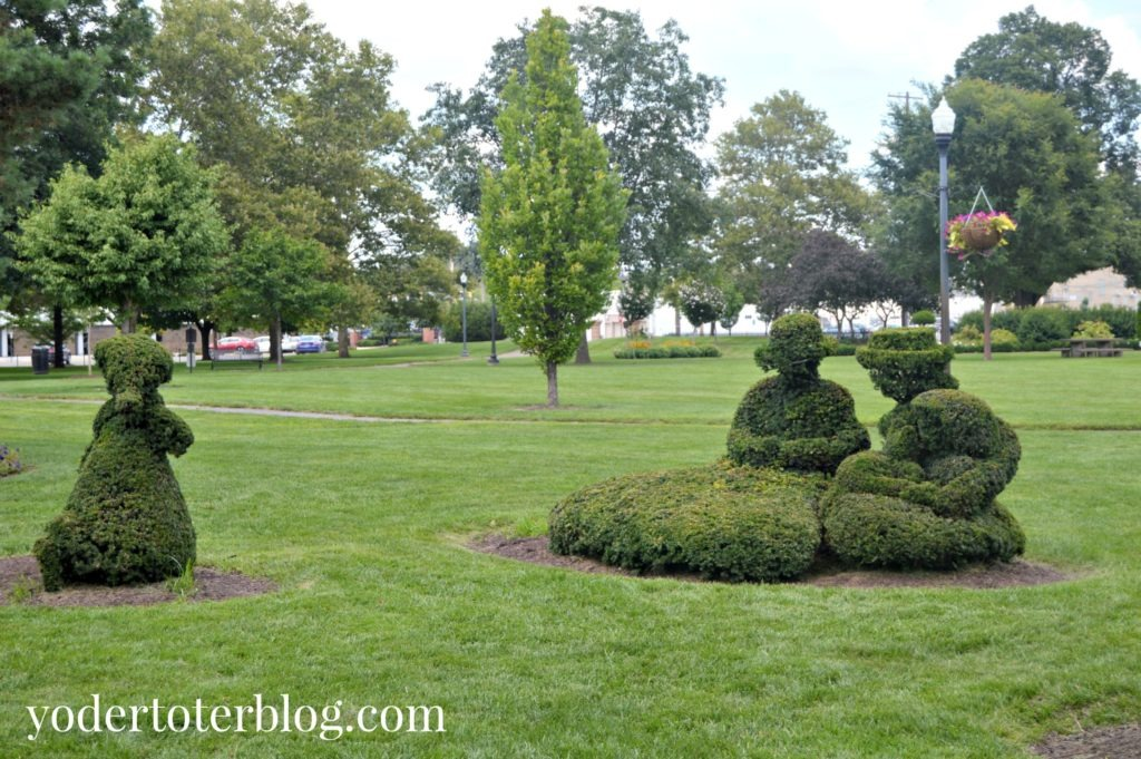 Fee things to do in Columbus, Ohio with kids - Topiary Park is a popular free attraction for families.