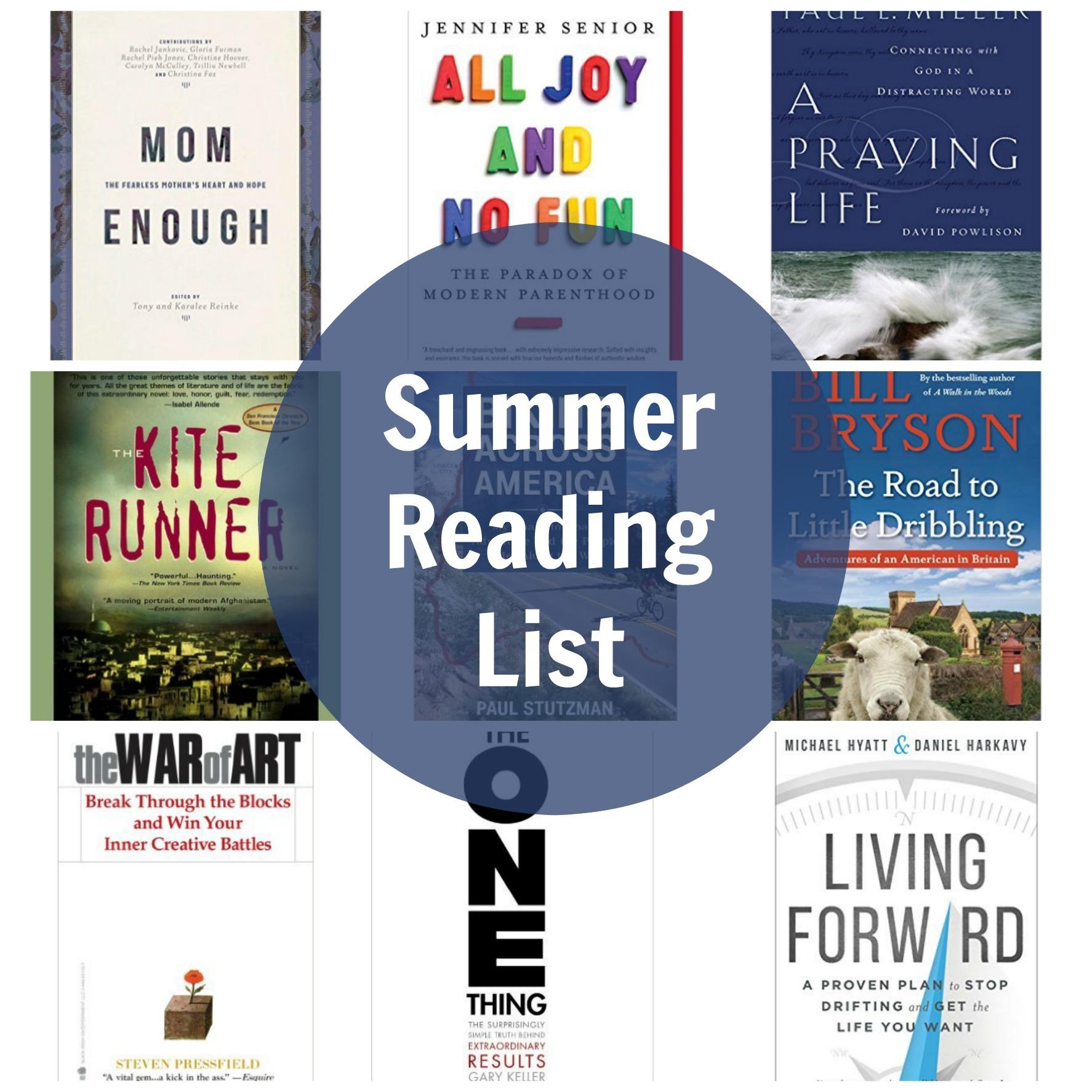 summer reading list 2016