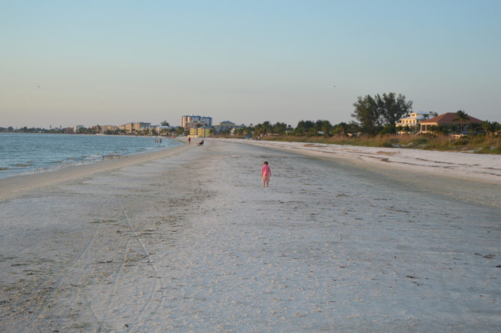 family, beaches near Fort Myers Florida, Sanibel Island