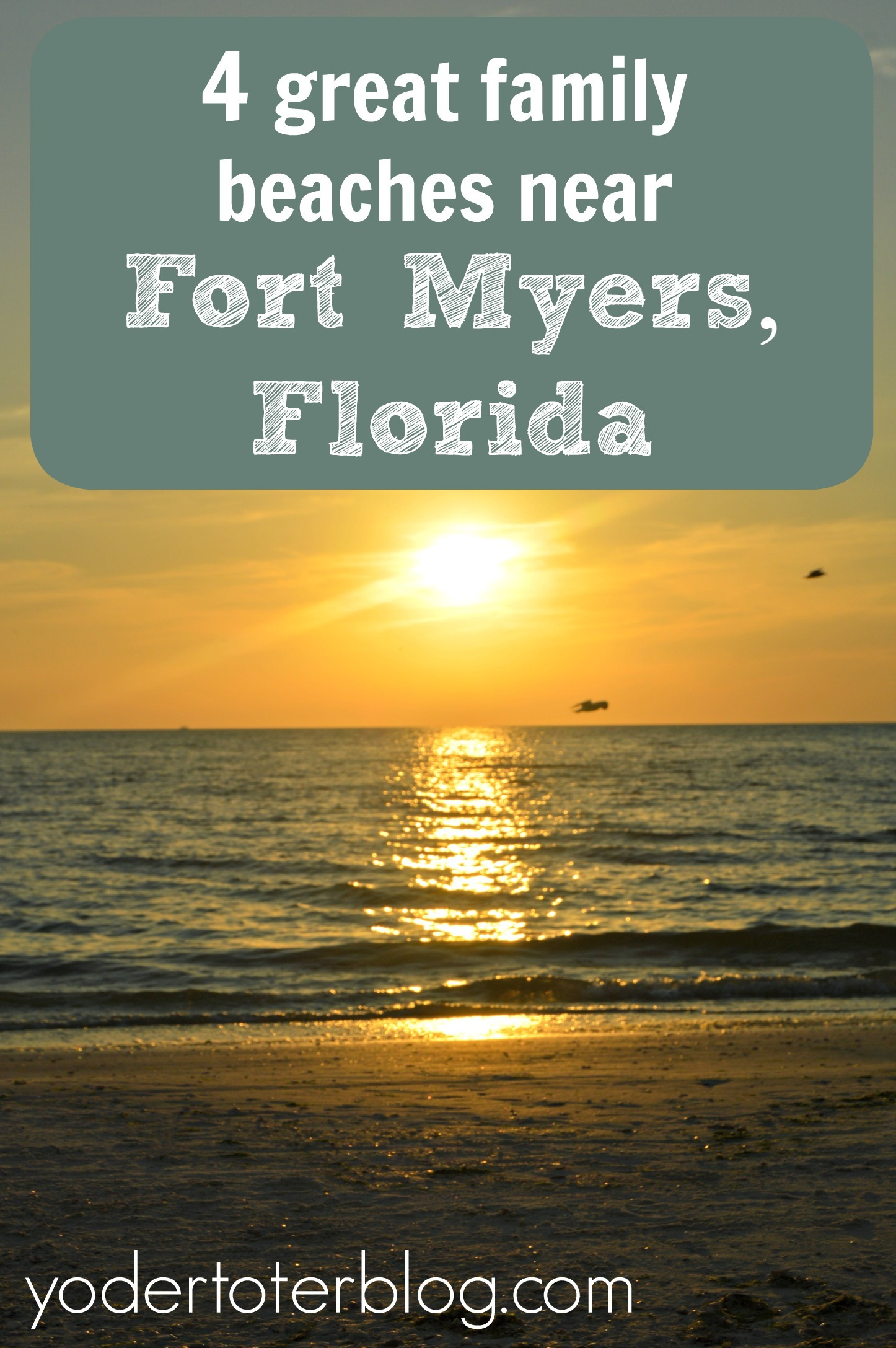 4 great family beaches near Fort Myers, Florida