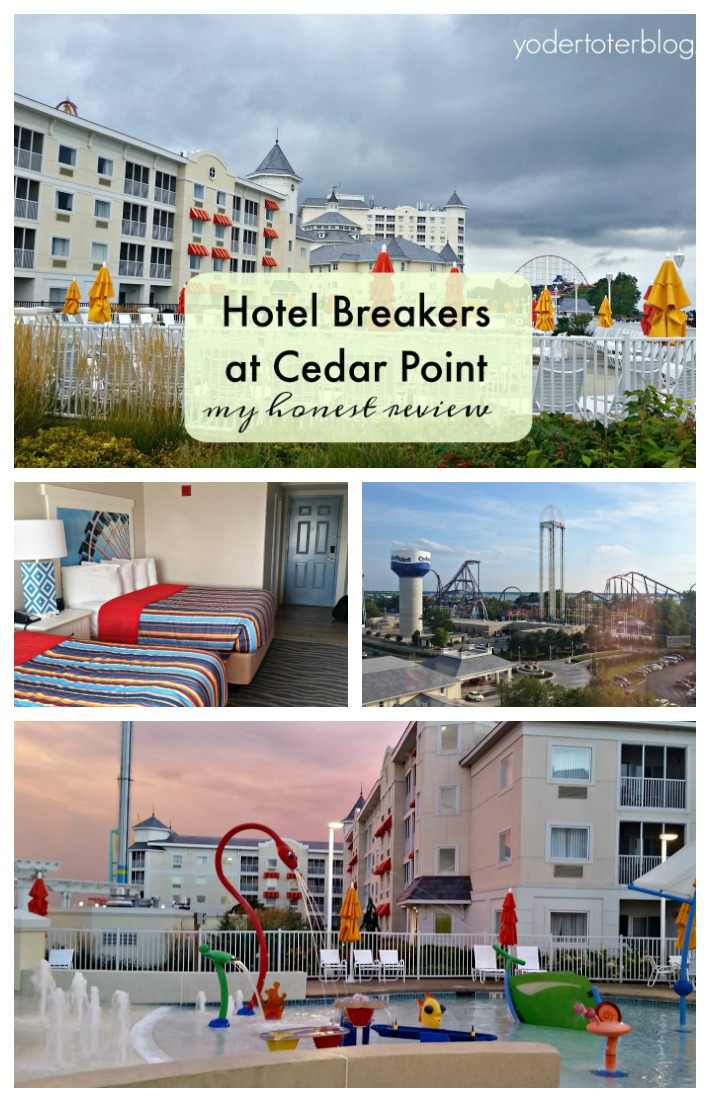 What you'll want to know about the Hotel Breakers before booking a visit. The Hotel Breakers is a historic Cedar Point hotel with numerous modern amenities. This hotel is sure to please the youngest and oldest guests- from an on-site Starbucks to an outdoor splash pad, and views of either the parks or the beach.. Stay the night at Cedar Point. Read my review here. #LakeErieLove