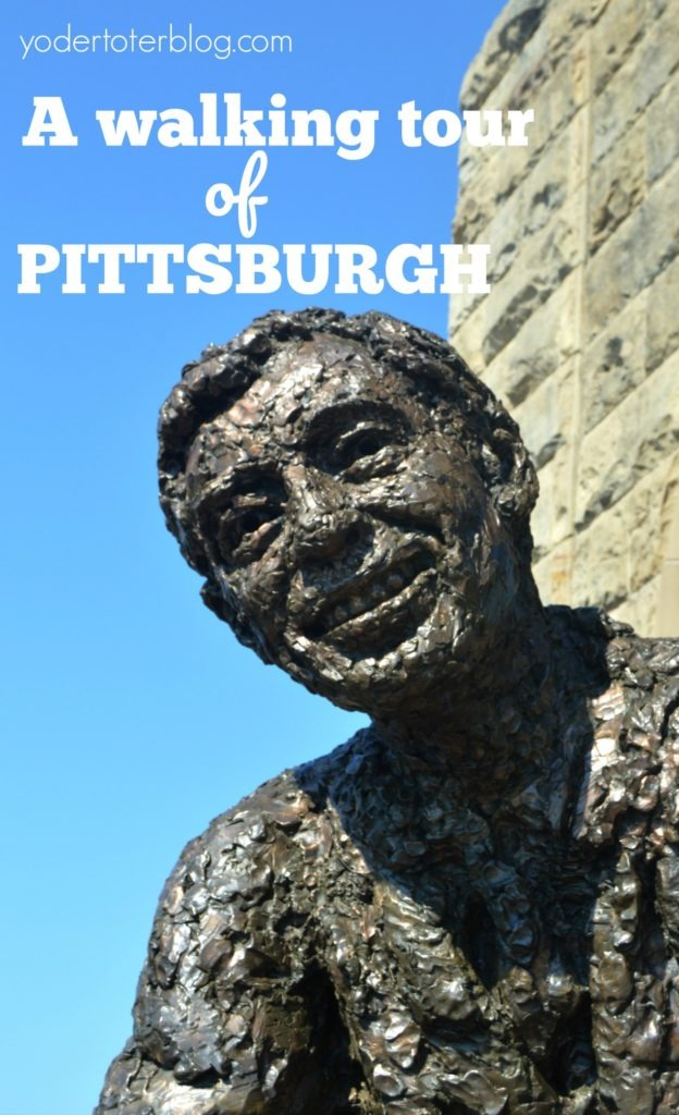 A walking tour of Pittsburgh, Pennsylvania with kids. Follow my maps and guide for the best stops for the entire family.