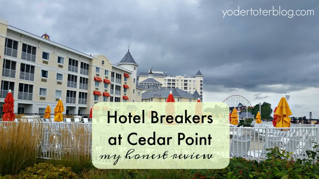 Hotel Breakers at Cedar Point is a historic hotel with modern amenities. Check out my review of this Cedar Point hotel.