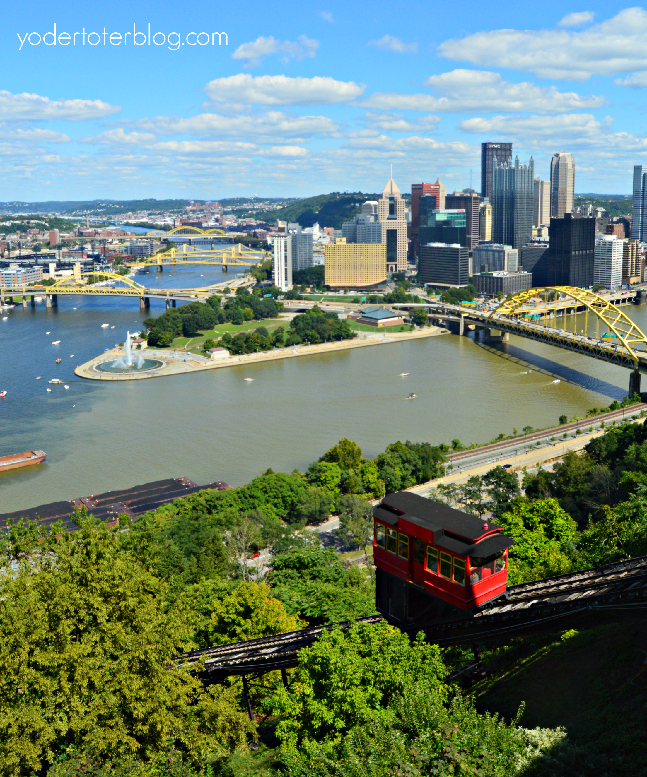 Tour of Pittsburgh with kids- Duquesne Incline