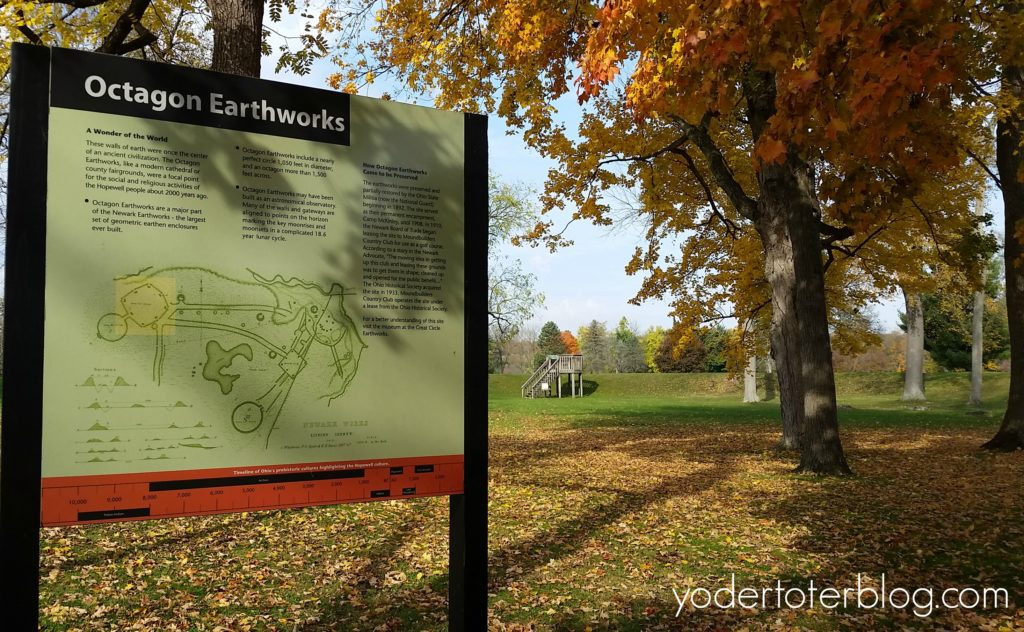 The Octagon Earthworks are a part of the Newark Earthworks. Visit these ancient Native American mounds built by the Hopewell culture and learn more about Ohio's history.