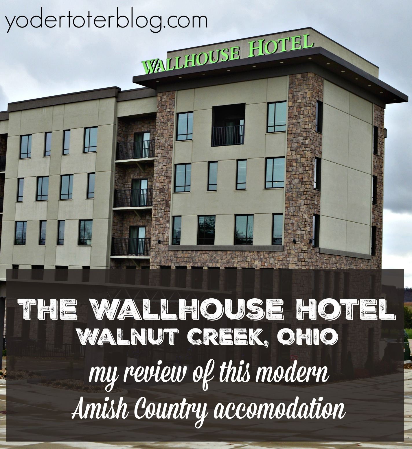 The Wallhouse Hotel Walnut Creek, Ohio Review