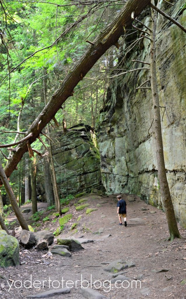 Best Ohio Hikes with Kids- Cuyahoga Valley National Park is full of suprises for the family.