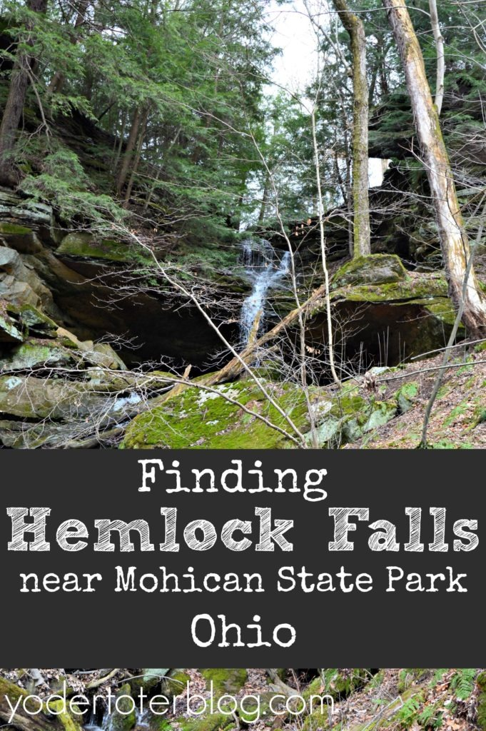 Hemlock Falls State Park is a hidden waterfall close to Mohican State Park. This Northeast Ohio waterfall is accessed by permission only.
