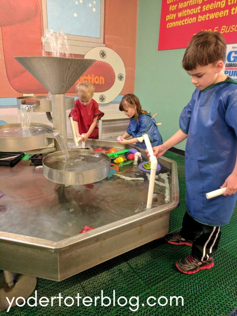 The Little Buckeye Children's Museum is downtown Mansfield, Ohio - This children's museum is a manageable one for moms with small children.