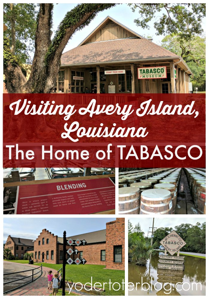 Avery Island is the home to TABASCO sauce. This small town in Louisiana contains and museum and factory tour for the world's most popular hot sauce. Here are tips for if you visit!