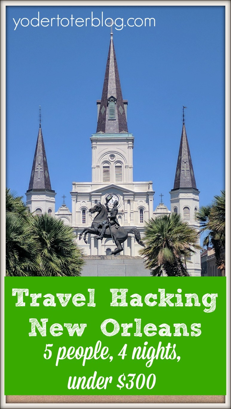 Travel hacking new orleans for Go to new orleans