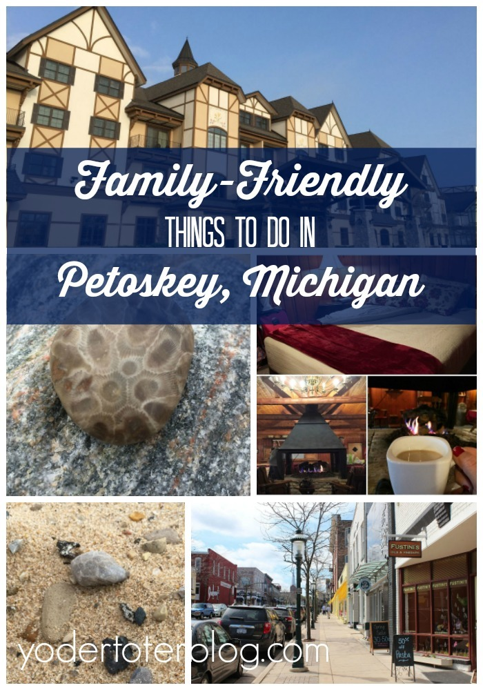 A family-friendly trip to Petoskey, Michigan. Here are things to do and attractions that are good for kids.