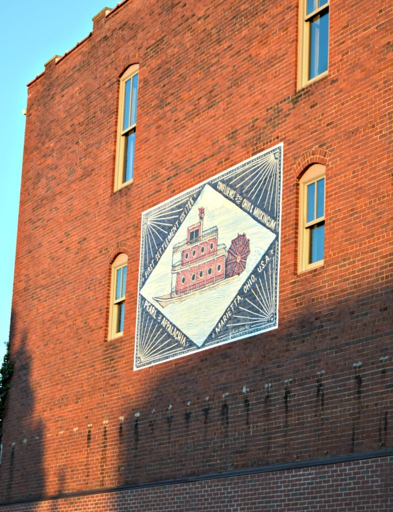 Sternwheel Mural- Marietta Ohio 5 reasons you must visit - things to do in Marietta, Ohio