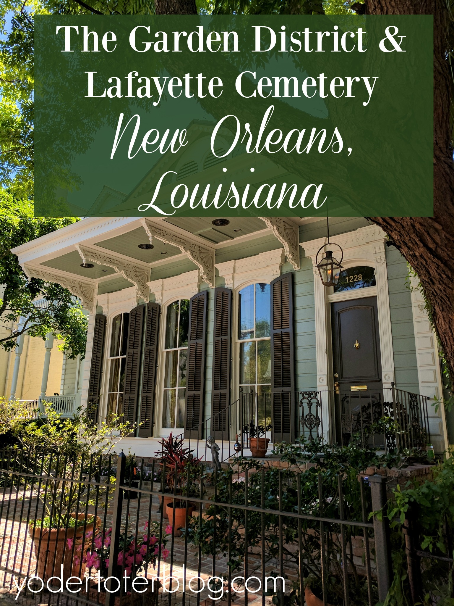 The Garden District and Lafayette Cemetery- New Orleans