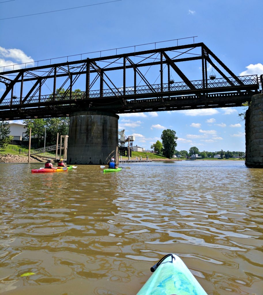 5 Reasons you must visit Marietta, Ohio. Kayaking on the Ohio River.