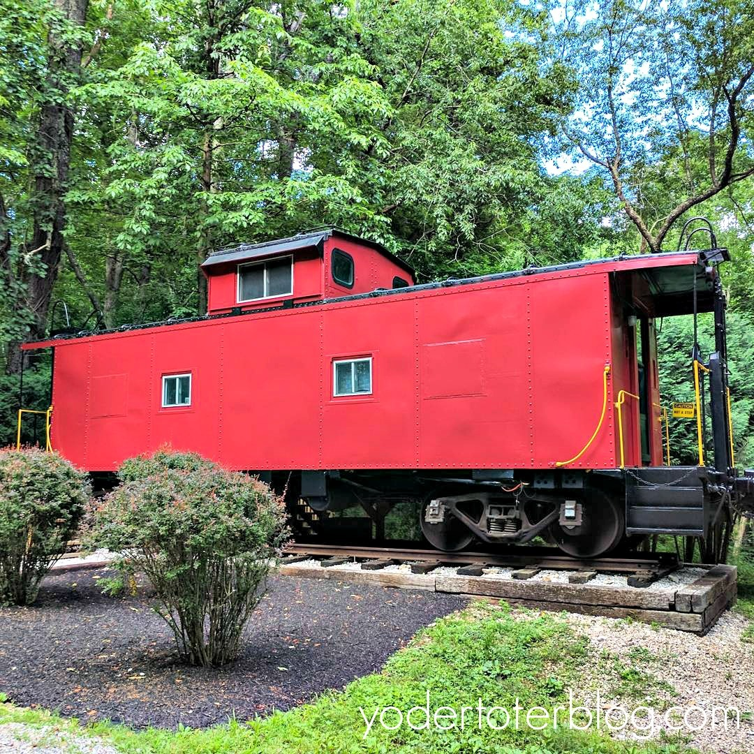 All aboard! The Hocking Hills Caboose- Unique Ohio Lodging