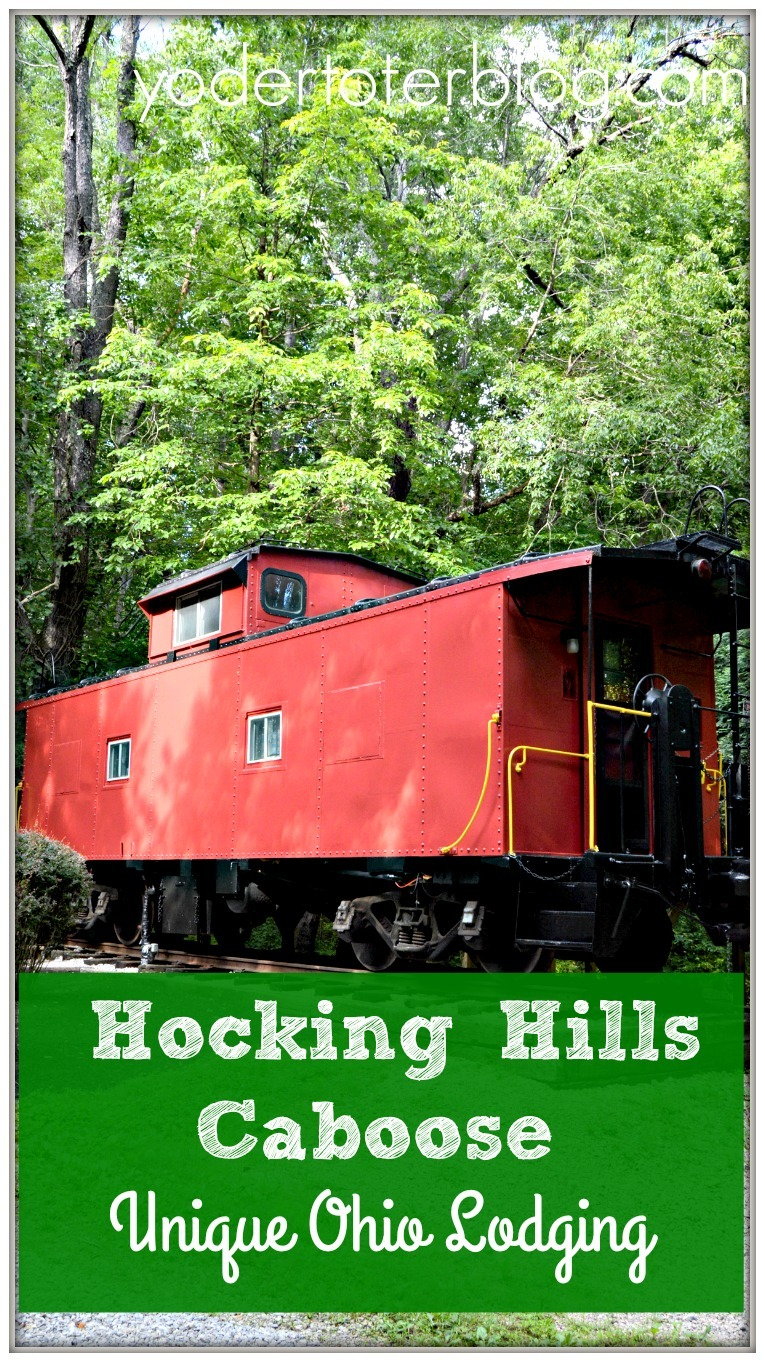 Looking for unique Ohio lodging? The Hocking Hills Caboose is a premier glamping destination in the Hocking Hills of Ohio. Our family of five loved our time here.