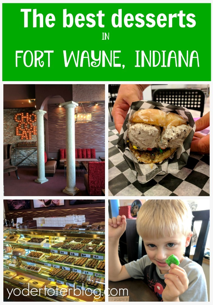The best desserts in Fort Wayne, Indiana. You won't want to miss these three institutions of all things sweet!