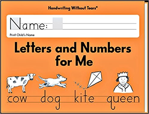 Homeschooling a 2nd grader and kindergartner - Handwriting without Tears