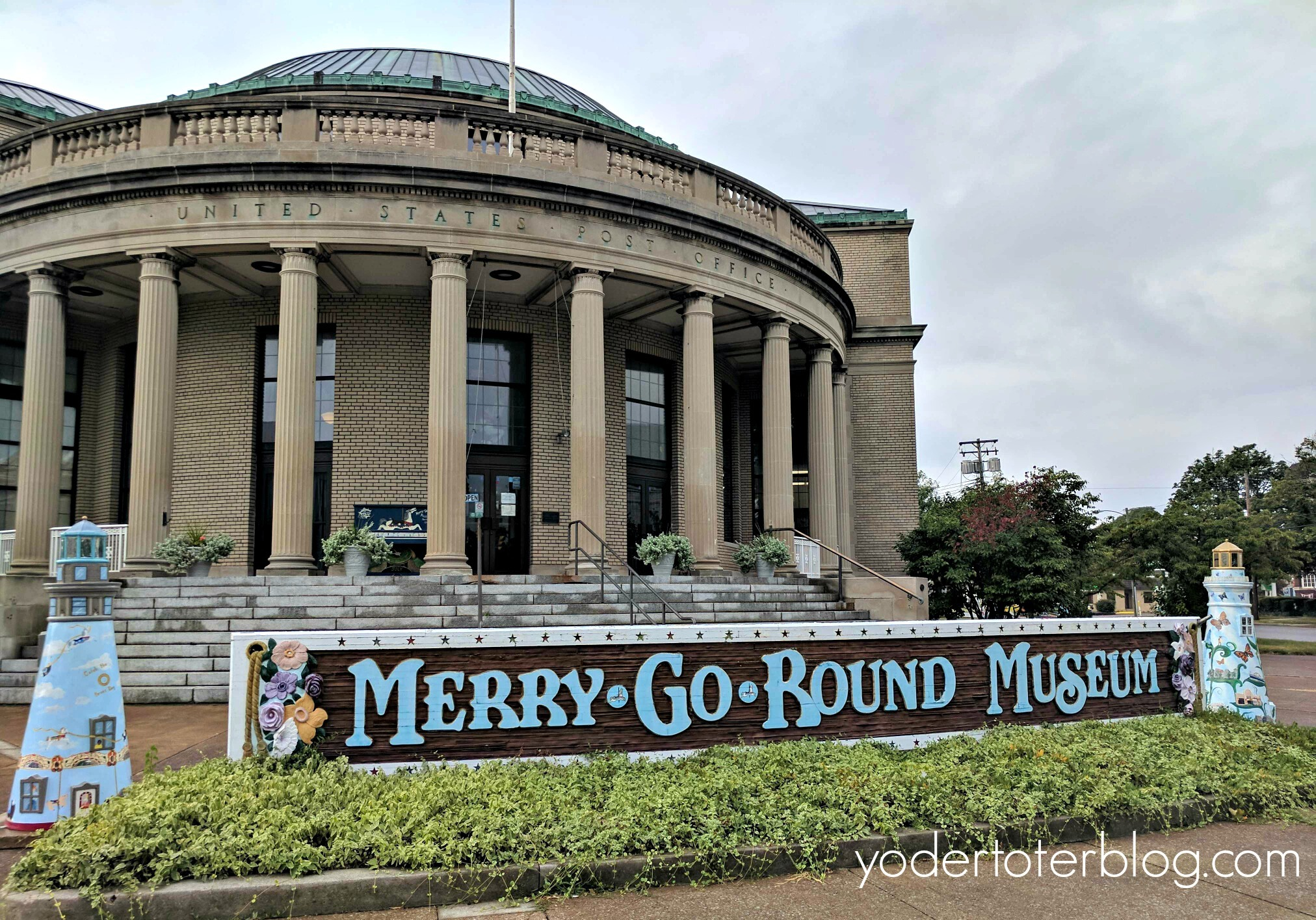 Things to do with kids in Sandusky, Ohio- The Merry-Go-Round Museum