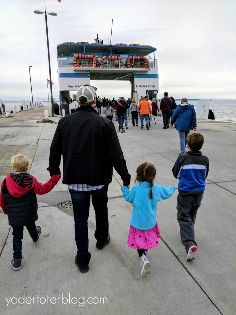 A family-fun day at Put-in-Bay