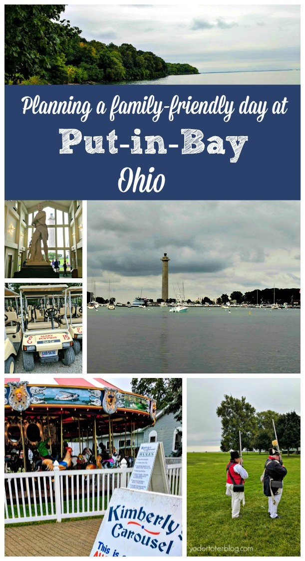 Planning a family-friendly day at Put-in-Bay, Ohio.  Things to do at Put-in-Bay with kids.